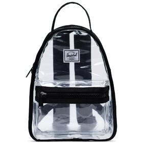 Herschel Nova Mini Sac à dos 9L, black/clear